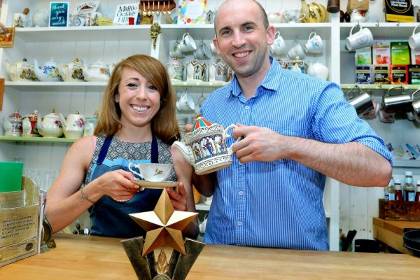 Tea room clinches national award