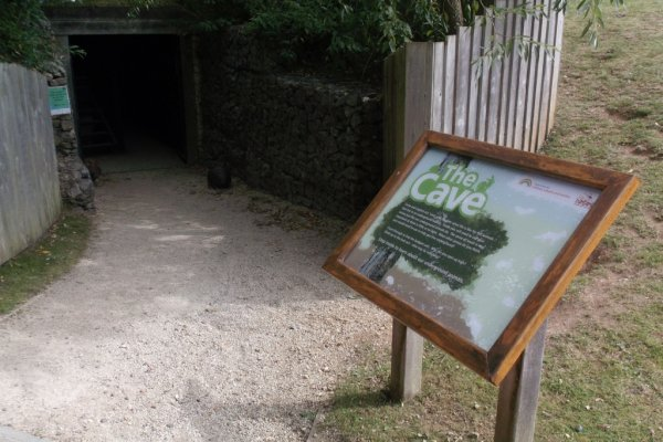 Half term fun at Natural World Centre's new Cave Trail