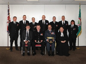 County firefighters receive accolade for dedicated service