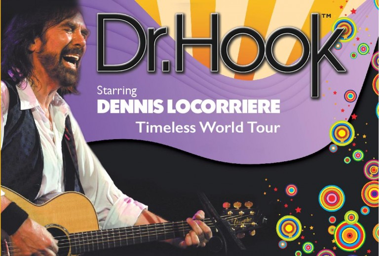 Dr Hook starring Dennis Locorriere to perform at The Baths Hall