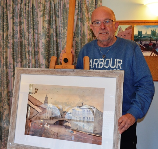 World-renowned Lincs artist battling cancer to sell hundreds of paintings