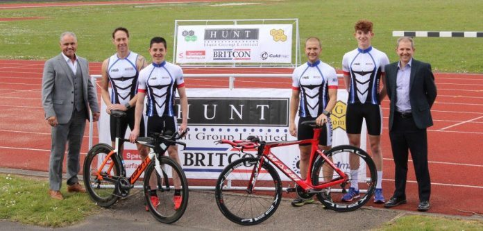 Scunthorpe firm signs up for triathlon sponsorship