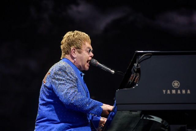 'Lift off' for rocket man Elton at Lincs Showground