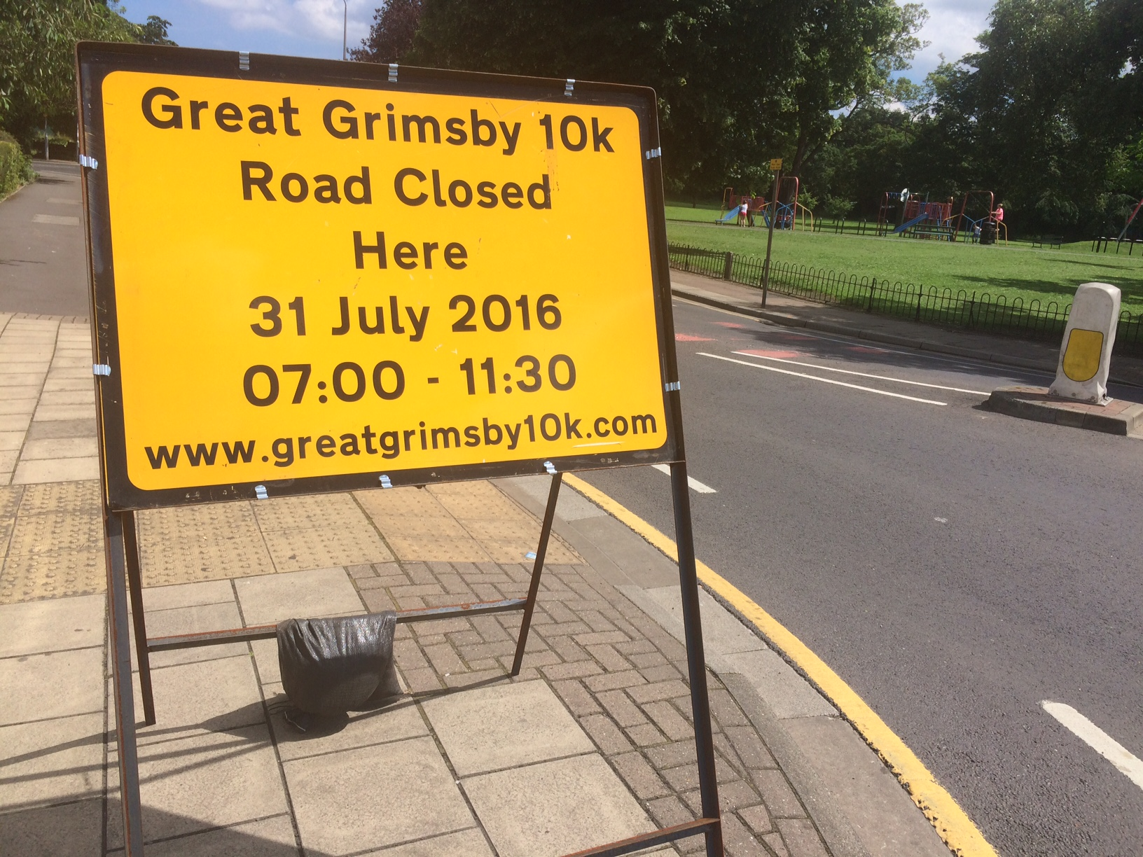 Road Closure Information For The Dong Energy Great Grimsby
