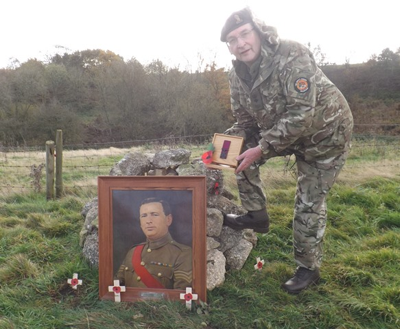 Grantham cadets help create new wood in memory of the fallen