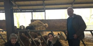 Victoria Atkins MP visits Brackenborough Hall Farm