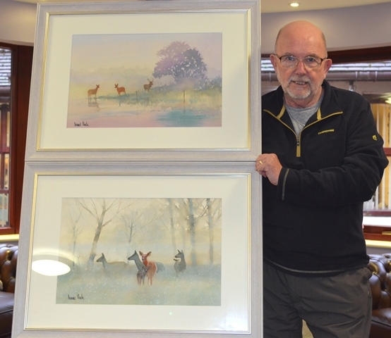 County artist surpasses doctor's expectations and organises art sale