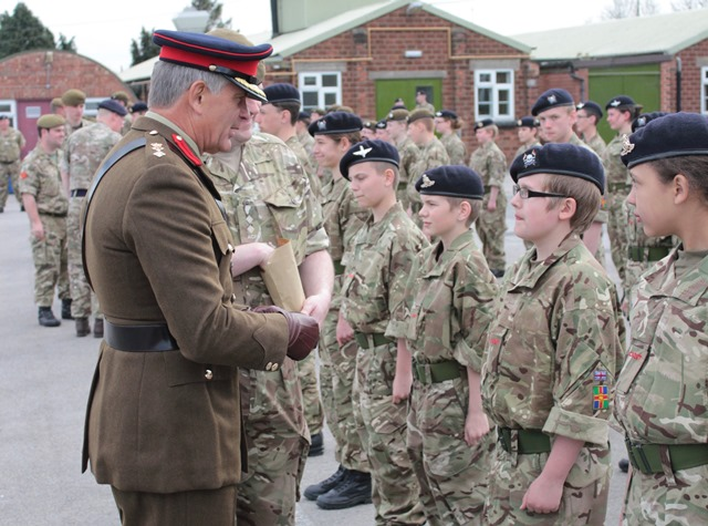 Lincolnshire Army Cadet Force celebrates centenary - Lincolnshire Today