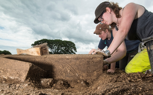 Medieval priest unearthed at Thornton Abbey
