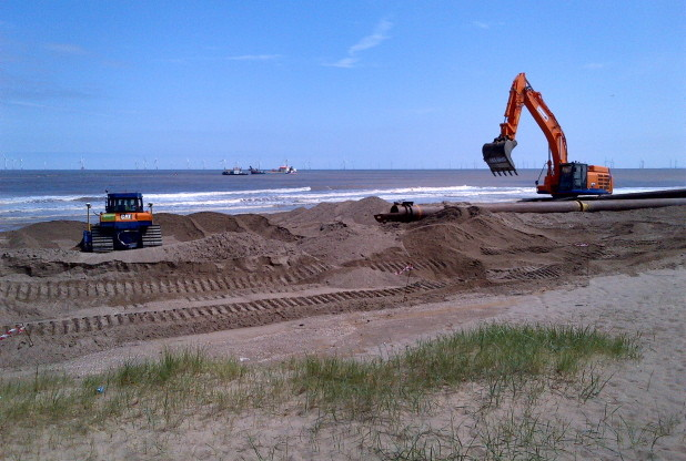 Lincolnshire beaches replenished under £6.8m scheme