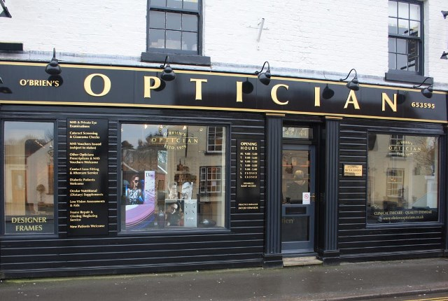 O'Brien's Opticians – purveyors of luxury eyewear since 1979
