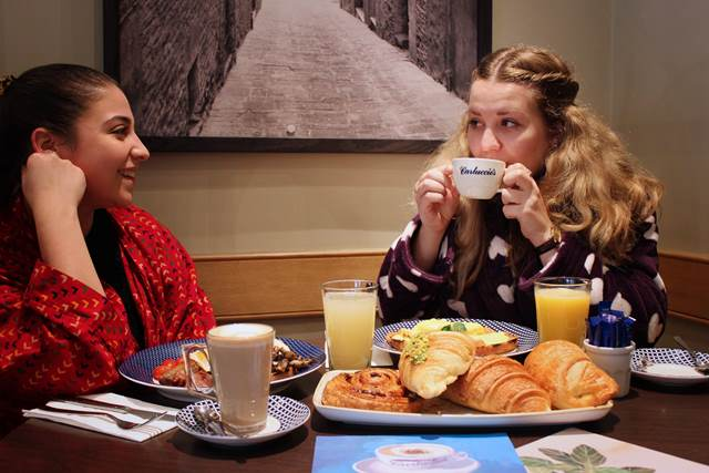 Carluccio's great breakfast give-away