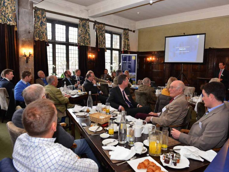 Preserving the future of farming on the menu at Lincolnshire breakfast seminars
