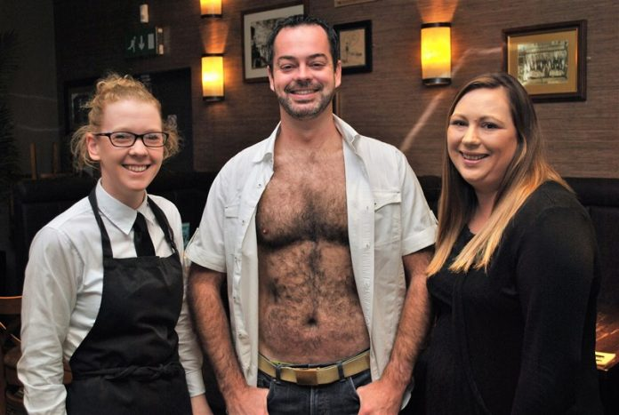 Brave Dave chips in for charity fundraiser