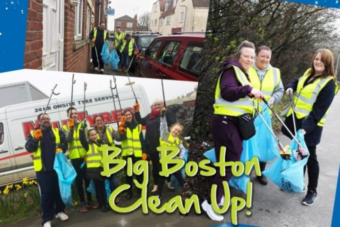 Cleaning the streets of Boston