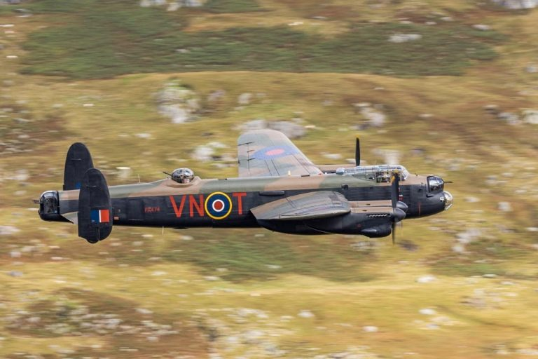 Lancaster flypast will take you back to the 1940s in Boston