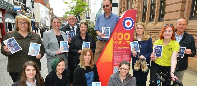 Calling all walkers and cyclists – Eight trails launched for RAF centenary