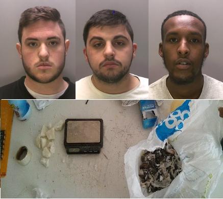 Three men jailed for running 'drugs hotline' in Lincoln