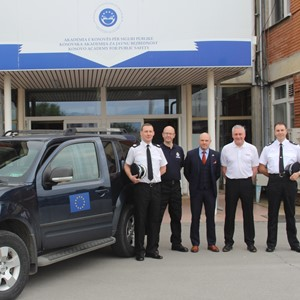 Lincolnshire officers deliver police training in Kosovo