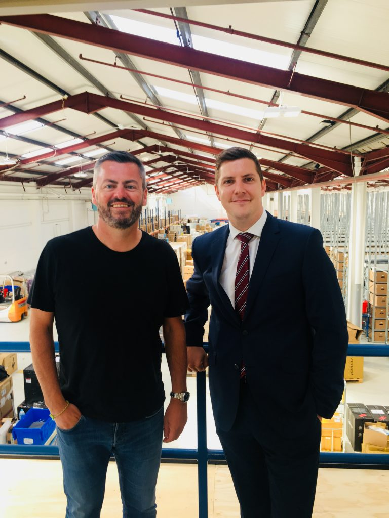 Seven figure funding package lets Sigma Sports open Grantham distribution centre