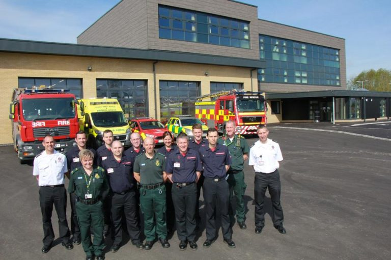 New joint fire and ambulance station opens in Sleaford