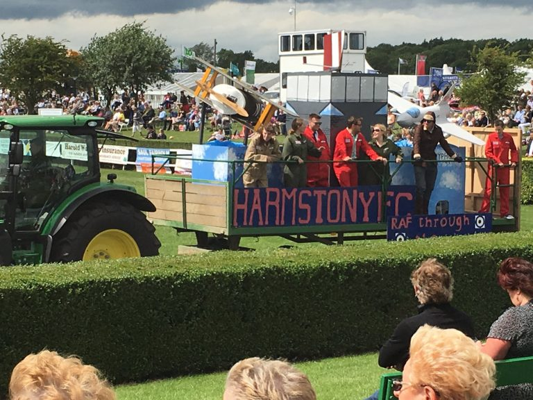 It's all go for the second day of the Lincolnshire Show
