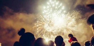 See fireworks over Belvoir Castle