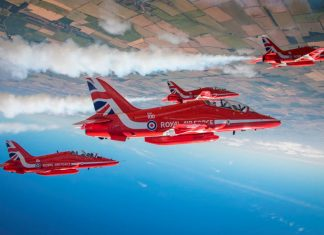 Landmark North American tour for Red Arrows