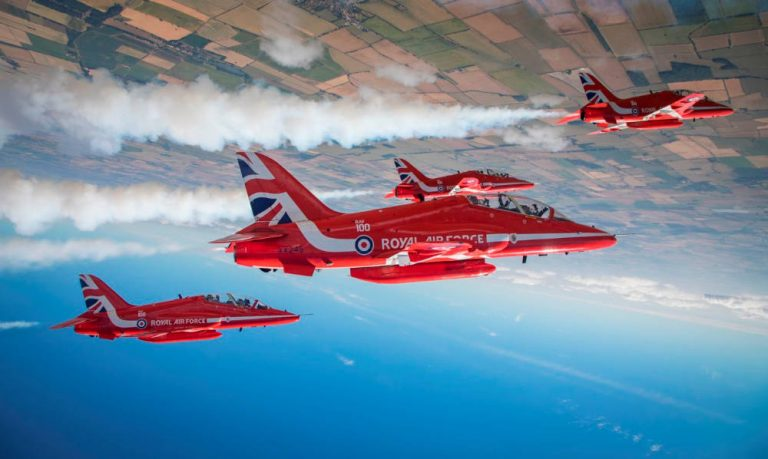 The Red Arrows set to stay in Lincolnshire!