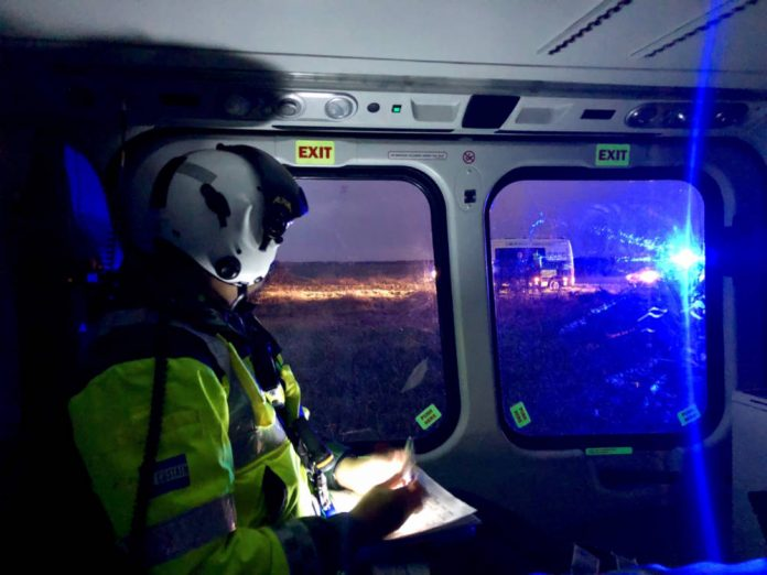 Lincs & Notts Air Ambulance crew provide first 24-hour coverage
