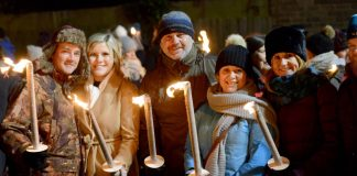 Torchlight procession to light up Lincoln
