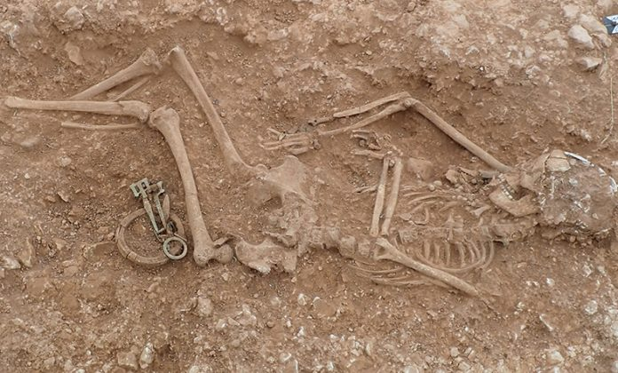 Anglo-Saxon site uncovered in Lincolnshire Wolds