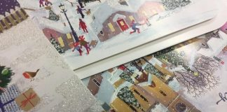 Keep glitter and wrapping paper out of the recycling this Christmas