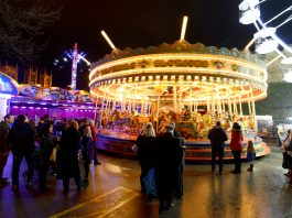 Scenes from Lincoln Christmas Market 2018