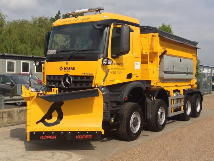 Pun-tastic names for revealed county gritters
