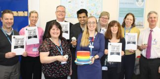 Lincs NHS trust named top employer for LGBT inclusivity