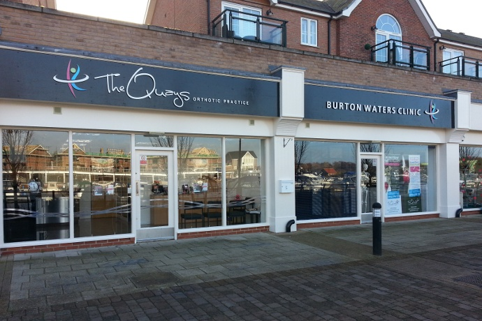 The Quays Orthotic Practice celebrates six years at Burton Waters home