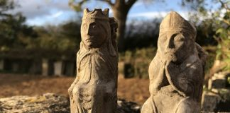 Victorian protective chess pieces discovered in Lincolnshire barn