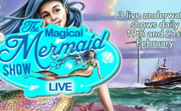 Half term mermaid magic at Skegness Aquarium