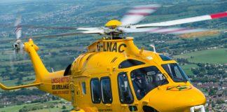 Fundraising partnership for Lincs & Notts Air Ambulance