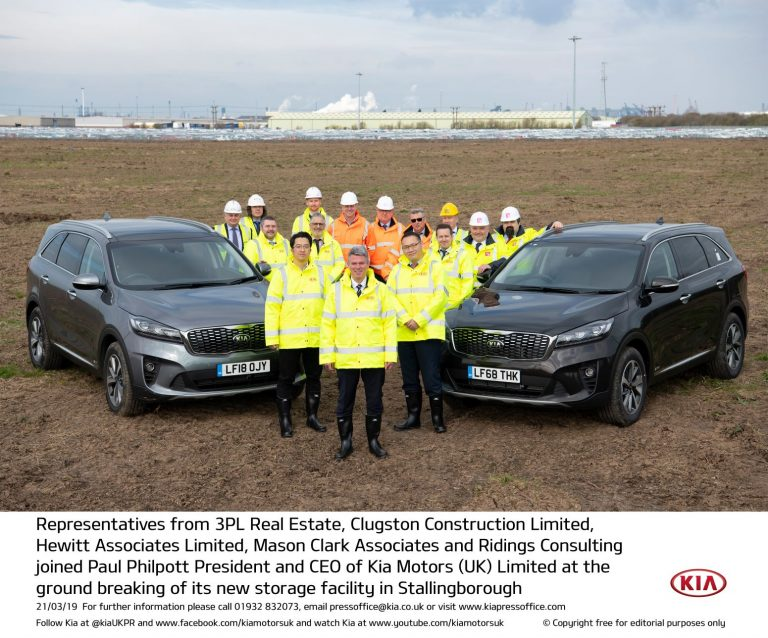 Kia to invest in Stallingborough storage facility