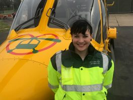 Lincs & Notts Air Ambulance welcomes new paramedic to crew