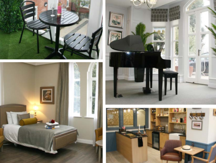 Tallington Lodge care home showcasing redevelopment at open day