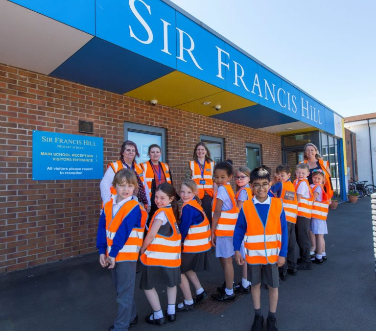 Lincolnshire housebuilder supports campaign to get schoolchildren walking