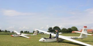 See Lincs by air during gliding club's open day