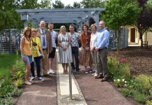 County hospice unveils beautiful new garden