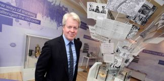 Lord Spencer opens new exhibition at National Civil War Centre