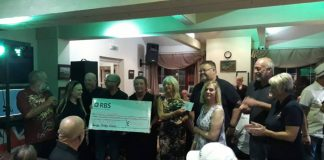 Local community group raise over £8,000 for RNLI Mablethorpe