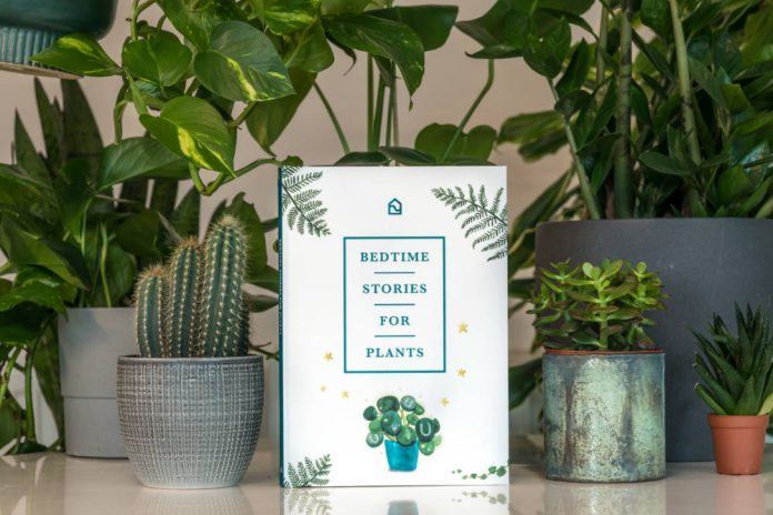 Bedtime stories launched for houseplants