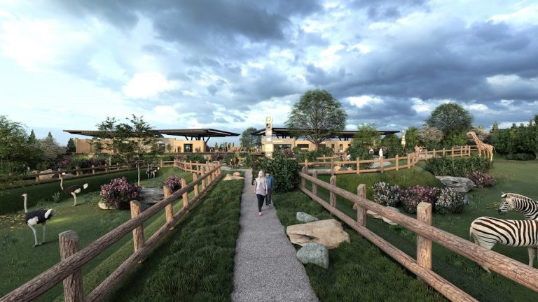 Inspiring architecture will transform homegrown Lincolnshire wildlife park